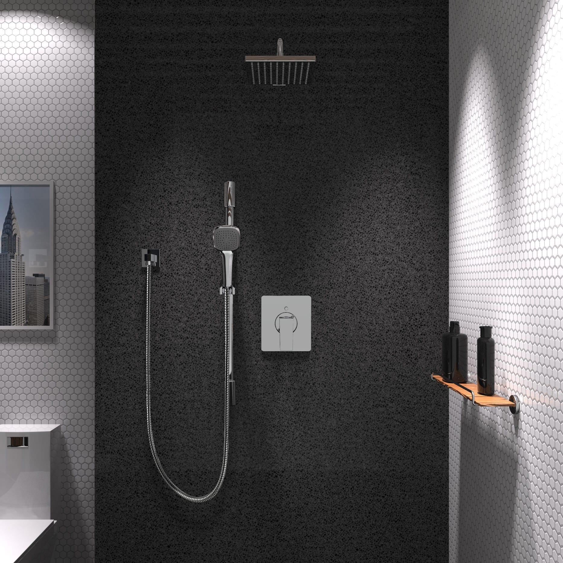 Kit: Shower Faucet - Complete model for Pressure Balanced Diverter ...