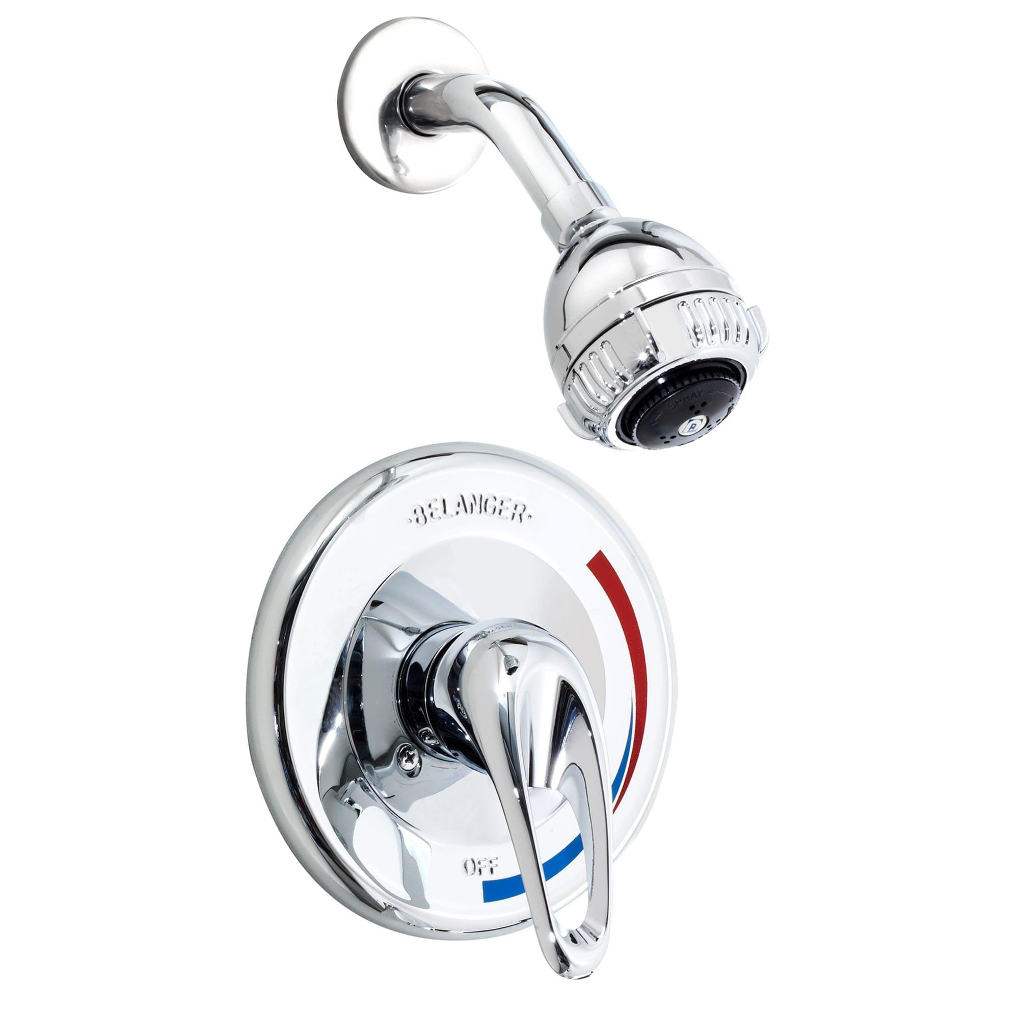 robinet pour douche mod le complet avec valve pression quilibr e b langer upt. Black Bedroom Furniture Sets. Home Design Ideas