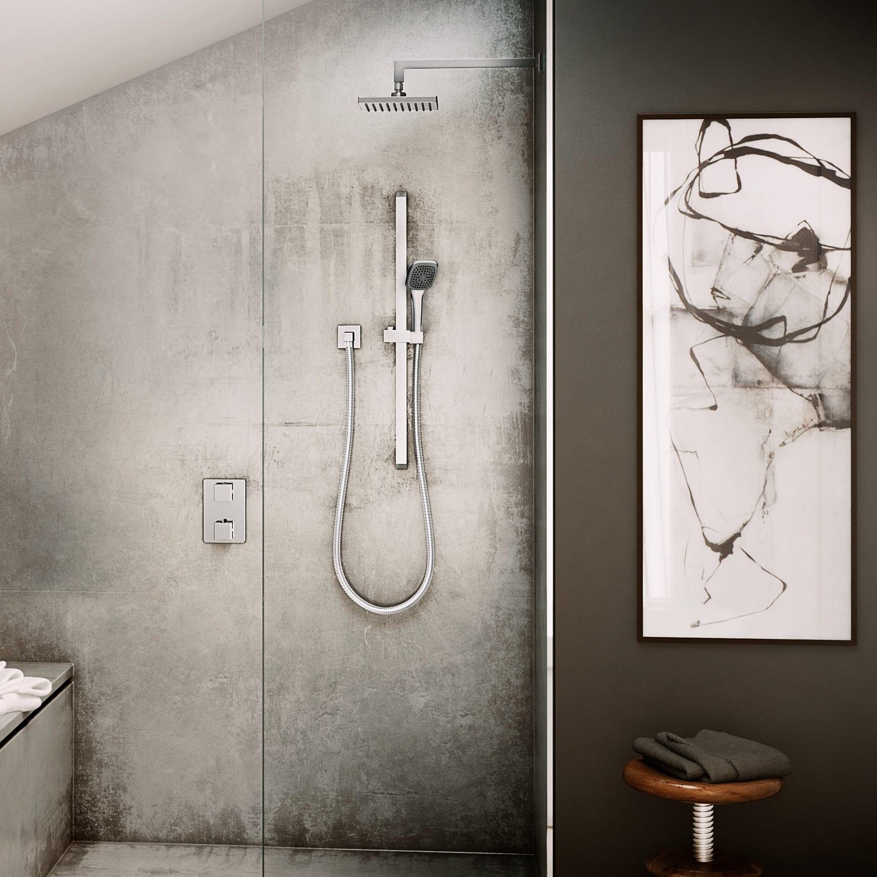 Kit: Shower Faucet - Complete model for Thermostatic Diverter Valve ...