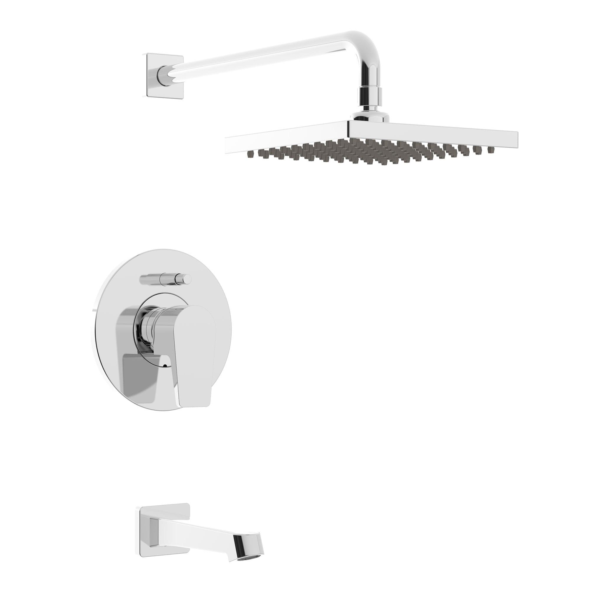 kit robinet pour baignoire douche garniture pour valve pression quilibr e d viatrice. Black Bedroom Furniture Sets. Home Design Ideas