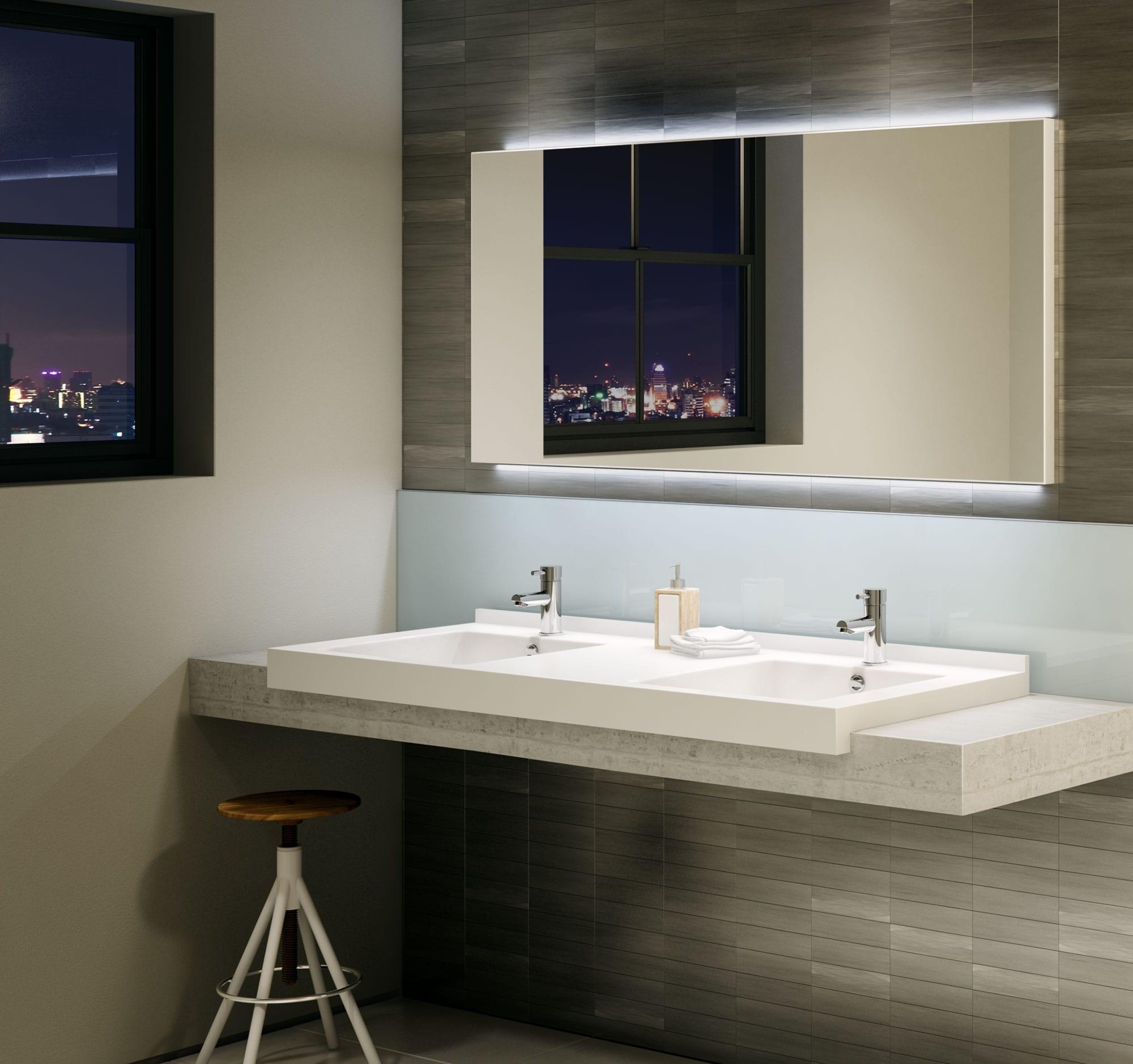 Robinet pour lavabo de salle de bain avec a rateur - Aerateur salle de bain ...