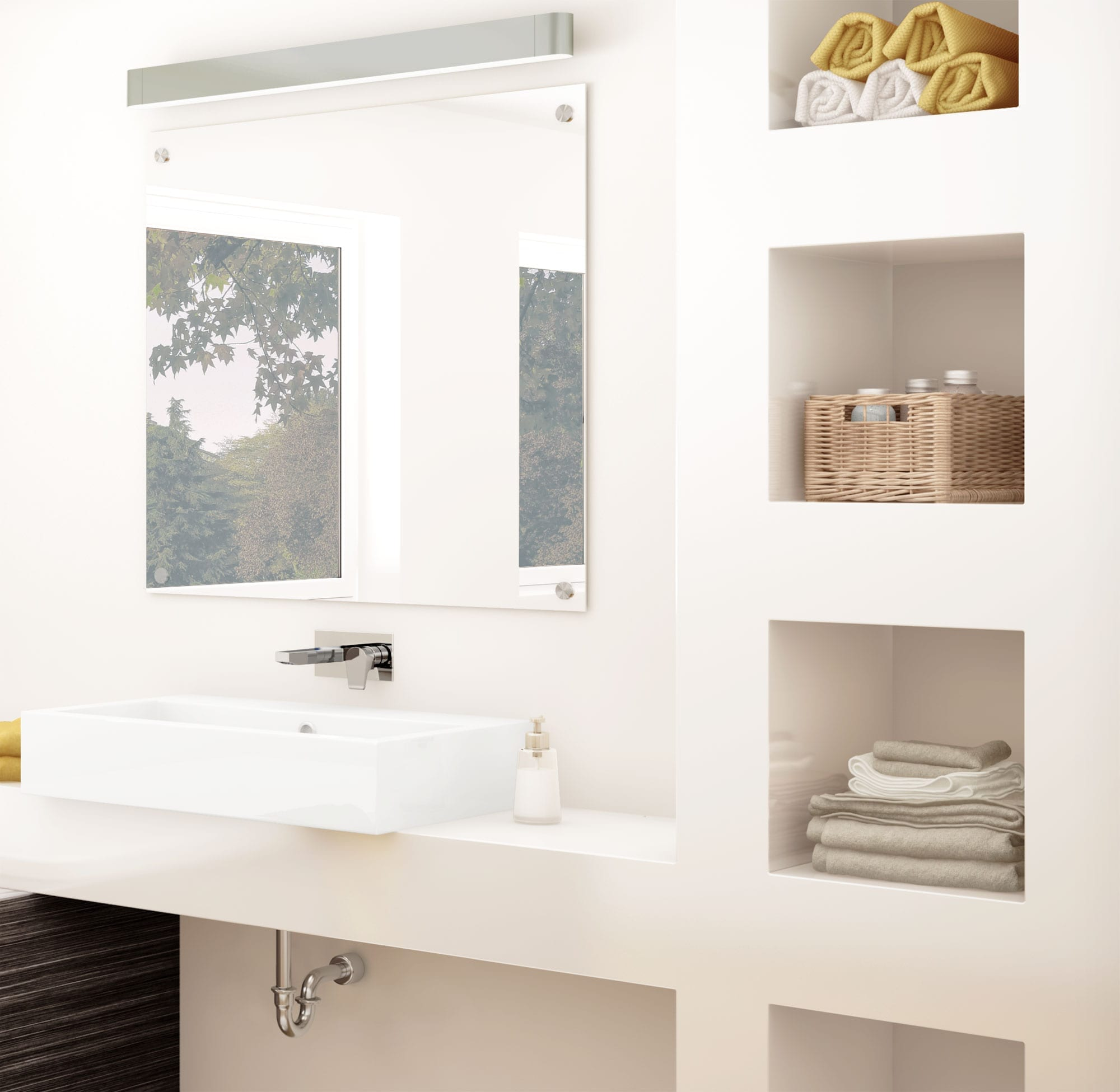 Lavatory Sink Faucet Wall Mount Installation B 233 Langer Upt