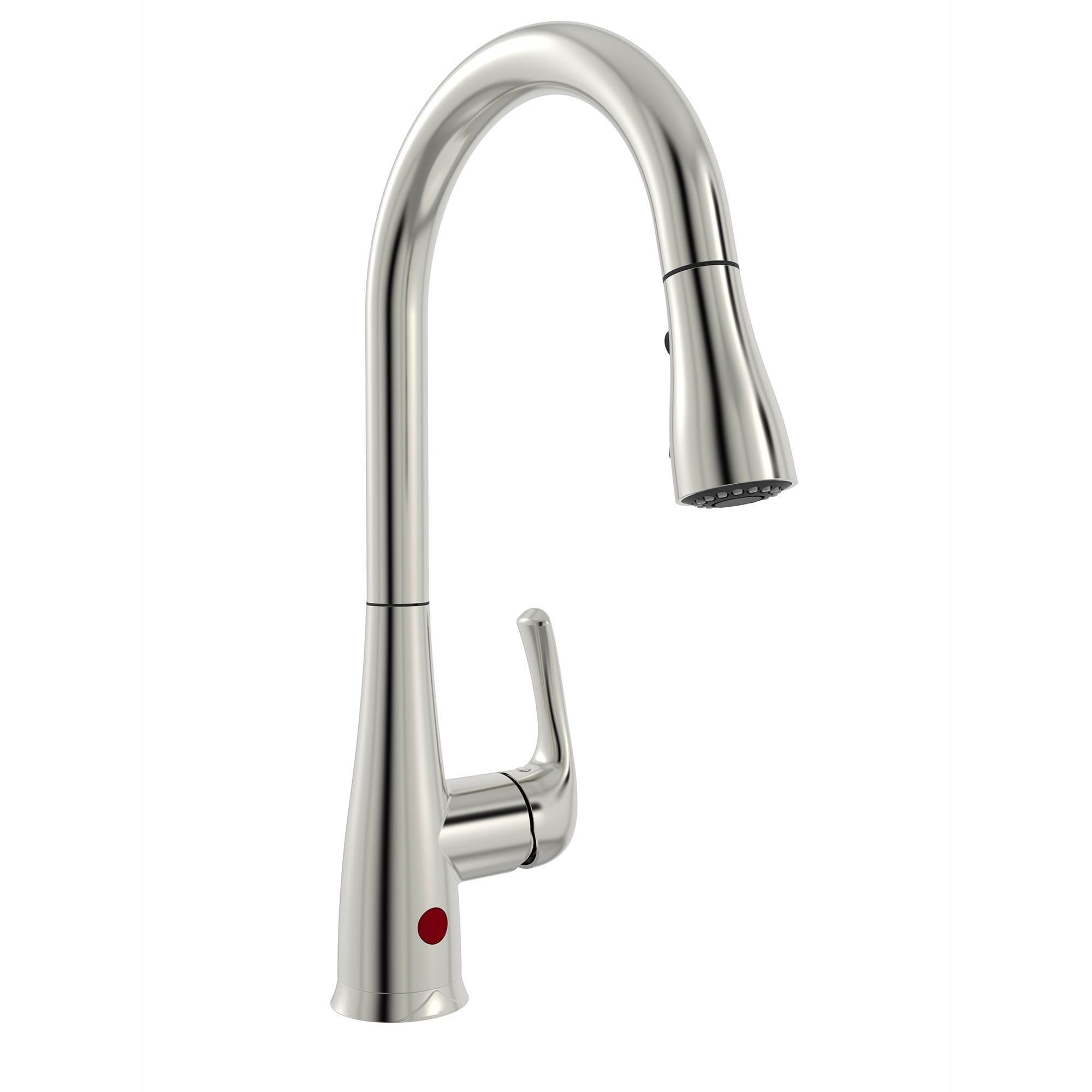 Kitchen Sink Faucet with Movement Sensor, Pull-Down Spout - Bélanger UPT