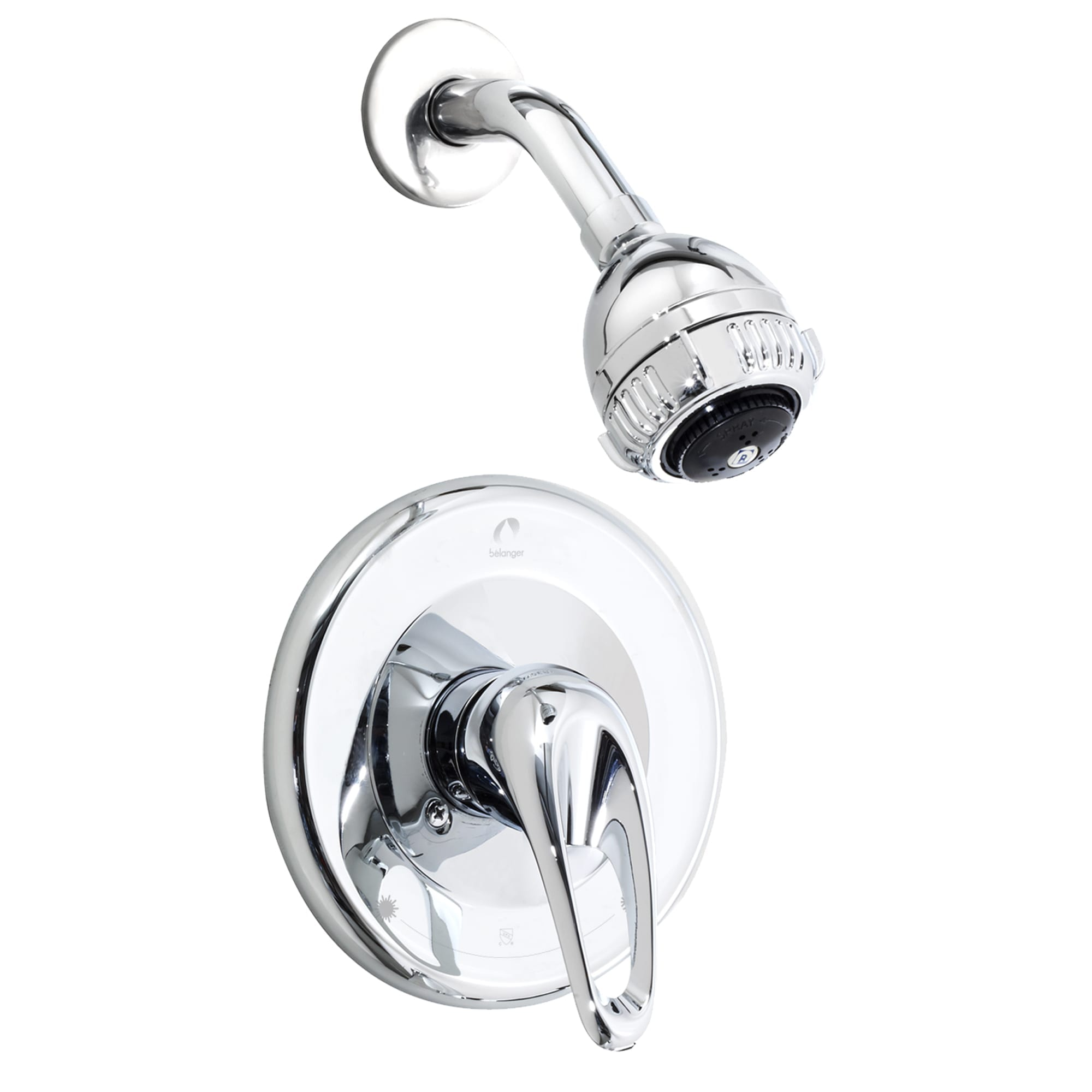 Shower Faucet Trim For Pressure Balanced Valve And Volume Control