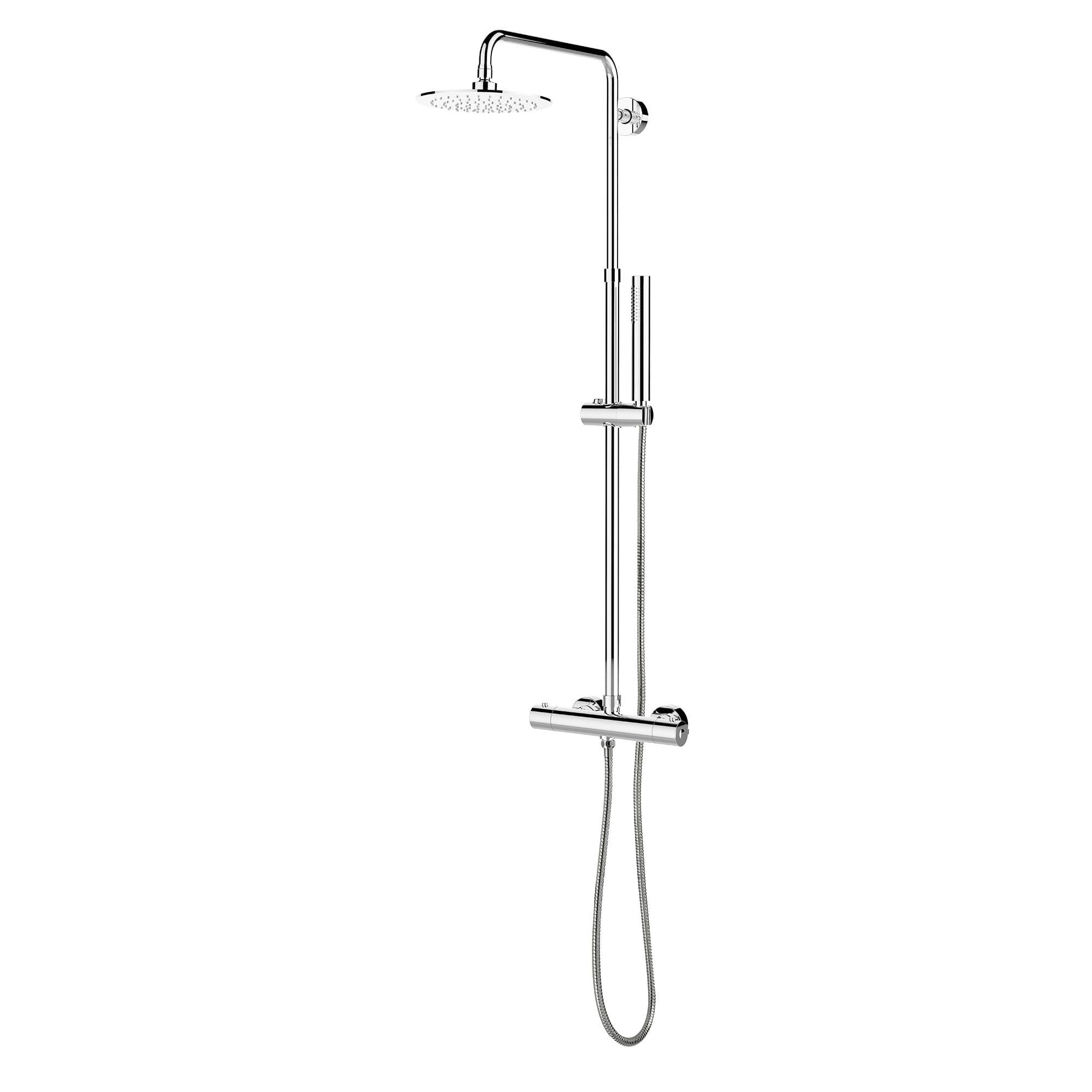 kit robinet pour douche mod le complet avec valve thermostatique d viatrice et ensemble de. Black Bedroom Furniture Sets. Home Design Ideas