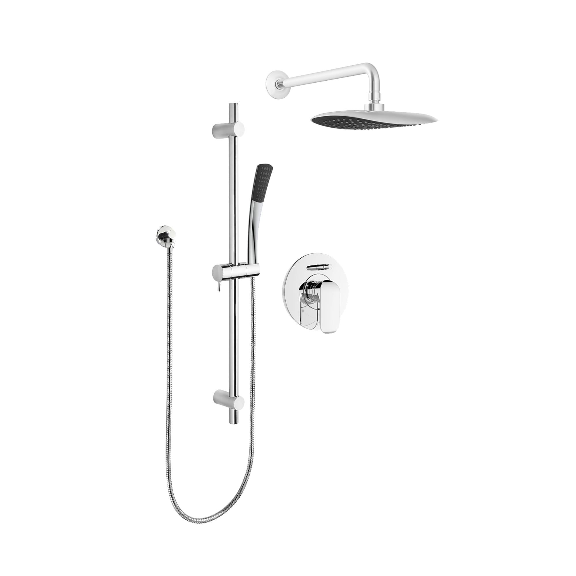 Kit Shower Faucet Trim For Pressure Balanced Diverter